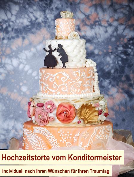 Hochzeitstorte online bestellen Berlin